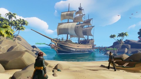 Sea of Thieves nuevo gameplay