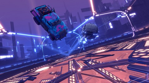 Rocket League DropShot estará disponible esta noche
