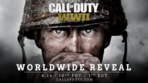 Call of Duty: WWII es anunciado oficialmente