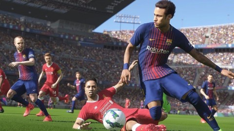 15 minutos de gameplay de Pro Evolution Soccer 2018 a 4K